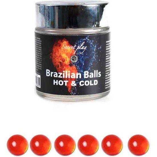 SECRET PLAY TARRO 6 BRAZILIAN BALLS FRÍO -CALOR