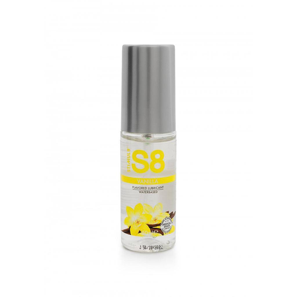 S8 FLAVORED LUBE VANILLA 50ML