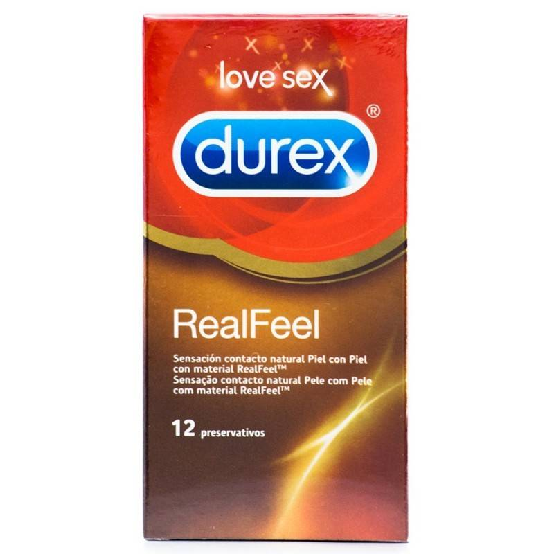 DUREX REAL FEEL 12 UDS
