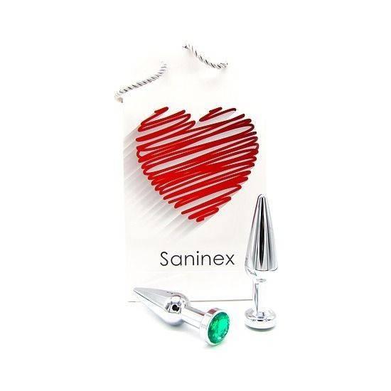 SANINEX PLUG METAL DIRECT PLEASURE DIAMOND